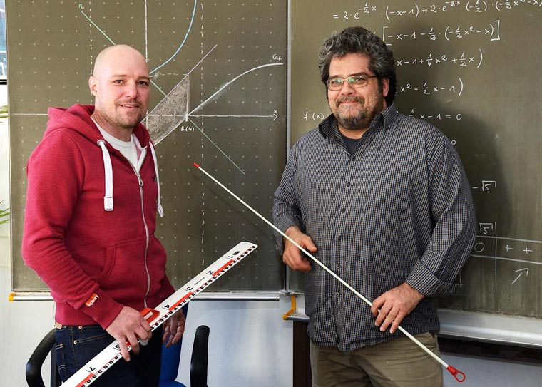Herr Frohnholzer und Herr Frank