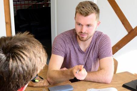 Maximilian Fellinger- Lehrer an der Schule bei Lernen mit Spaß