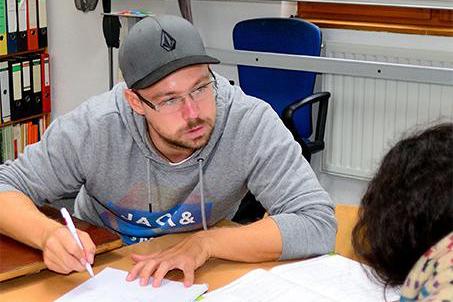 Maximilian Frank- Lehrer bei Lernen mit Spaß