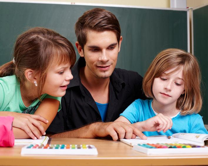 Lernen mit Nachhilfelehrern